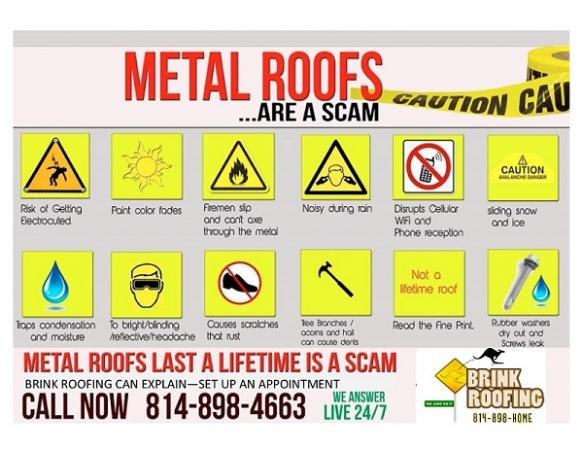 Metal Roofs The Truth About